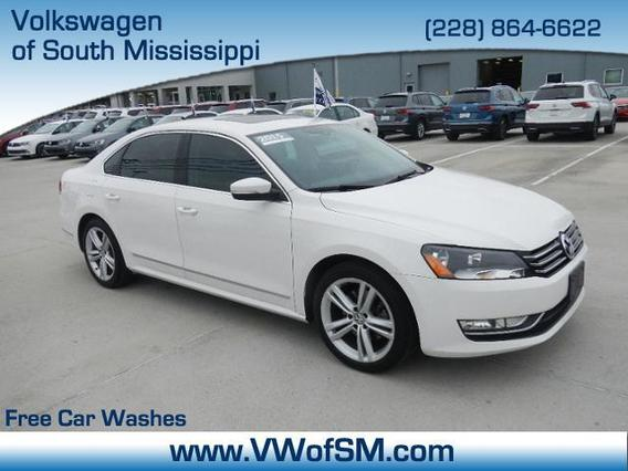2015 Volkswagen Passat 1.8T LIMITED EDITION 4dr Car Slide 0