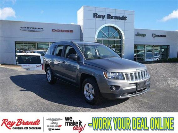 2014 Jeep Compass SPORT Sport Utility Slide 0