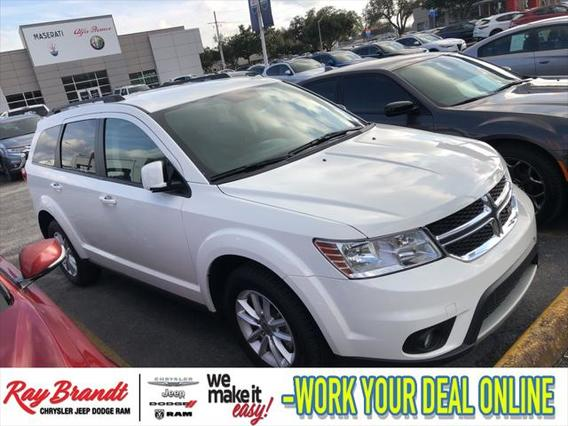 2017 Dodge Journey SXT Sport Utility Slide 0