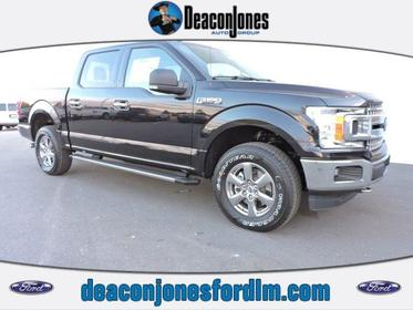 2019 Ford F-150 XLT 4WD SUPERCREW 5.5' BOX  NC