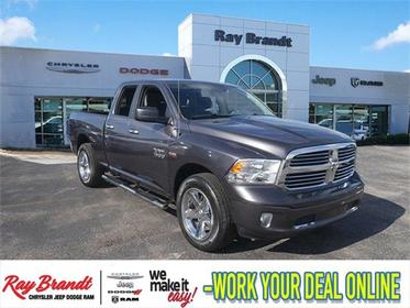 2016 Ram 1500 BIG HORN Standard Bed Slide