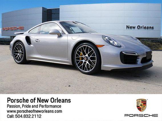 2015 Porsche 911 TURBO 2dr Car Slide 0