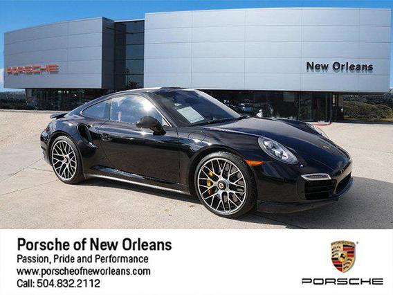 2016 Porsche 911 TURBO S 2dr Car Slide 0