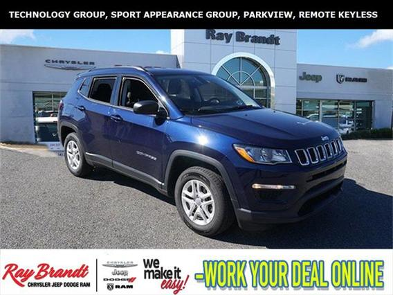 2018 Jeep Compass SPORT Sport Utility Slide 0