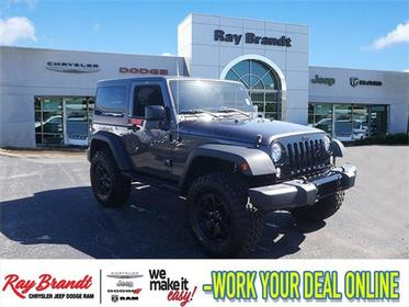 2016 Jeep Wrangler WILLYS WHEELER Sport Utility Slide