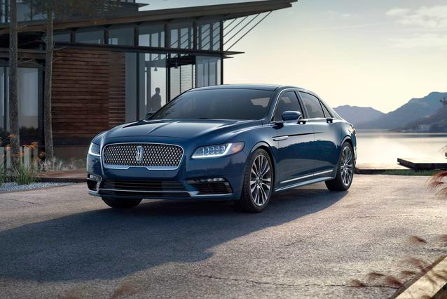 2019 Lincoln Continental RESERVE 4dr Car Slide 0