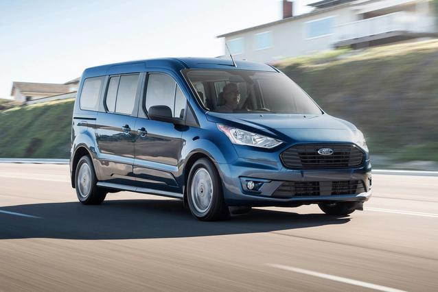 2019 Ford Transit Connect Wagon XLT Full-size Passenger Van Slide 0