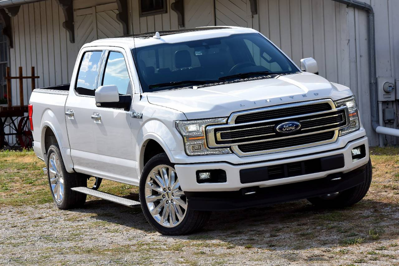 2018 Ford F-150 LIMITED Crew Cab Pickup Slide 0