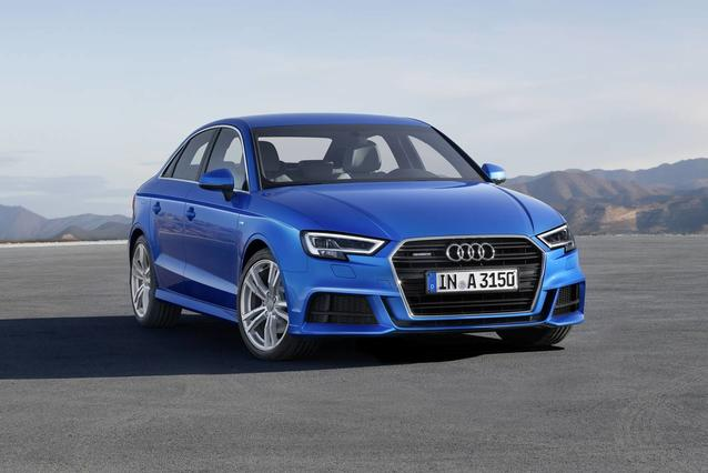 2019 Audi A3 Sedan PREMIUM 4dr Car Slide 0