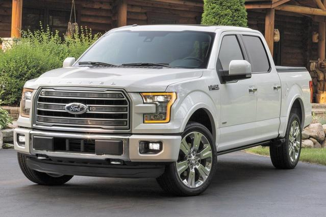 2017 Ford F-150 LARIAT 4D SuperCrew Slide 0