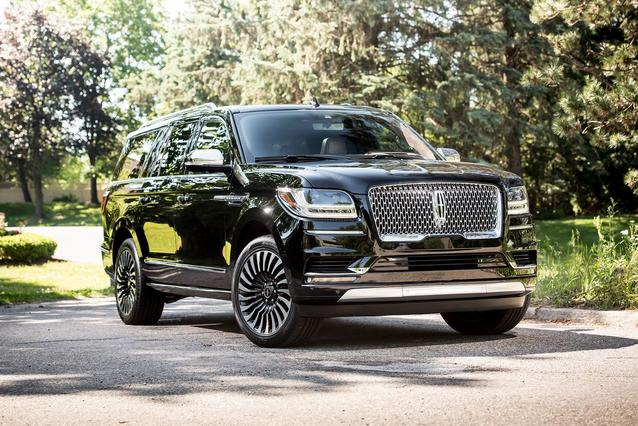 2019 Lincoln Navigator BLACK LABEL SUV Slide 0