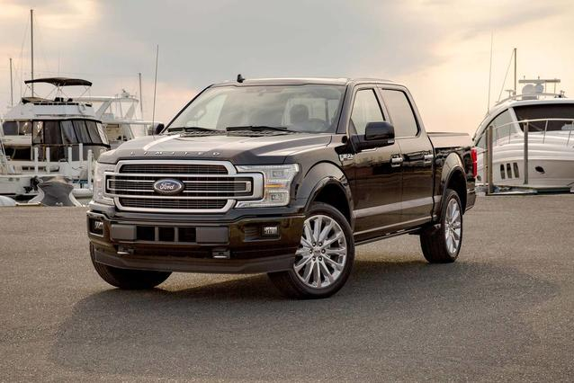 2019 Ford F-150 LIMITED Crew Cab Pickup Slide 0