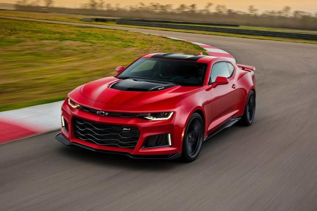 2019 Chevrolet Camaro 2SS Convertible Slide 0