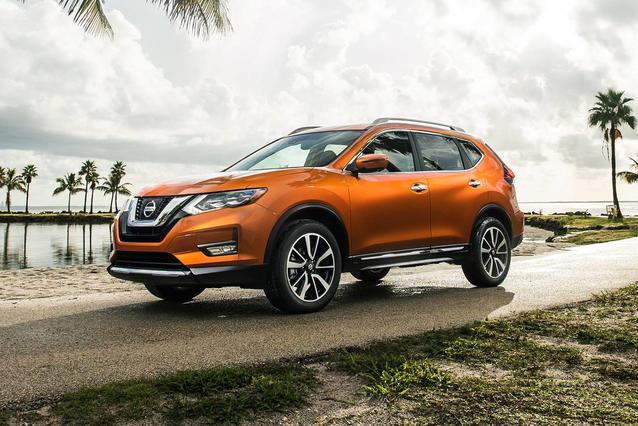 2019 Nissan Rogue S Sport Utility Slide 0