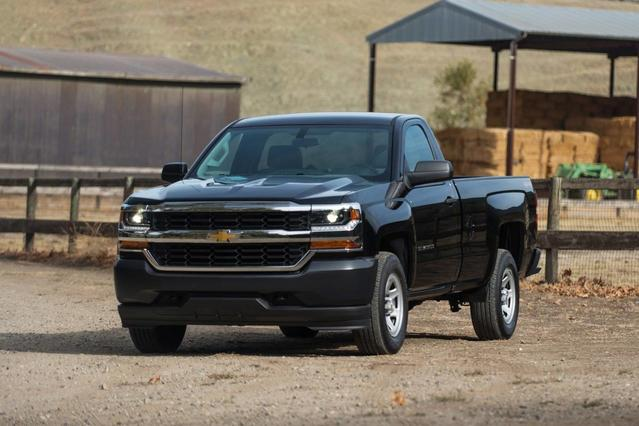 2018 Chevrolet Silverado 1500 WT Regular Cab Pickup Slide 0