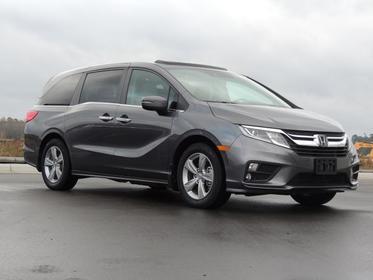 Crystal Black Pearl 2018 Honda Odyssey EX-L