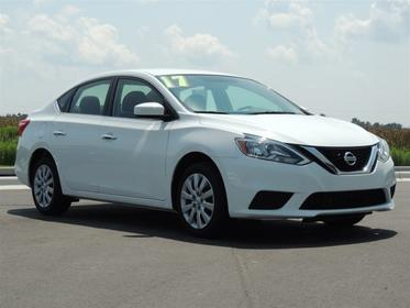 Fresh Powder 2017 Nissan Sentra S CVT Goldsboro NC