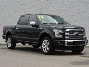 "2015 Ford F-150 4WD SUPERCREW 145"" PLATINUM Goldsboro NC"