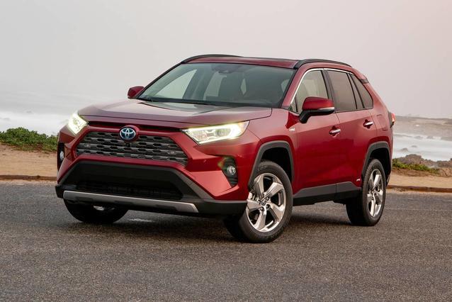2019 Toyota RAV4 HYBRID XSE Sport Utility Slide 0