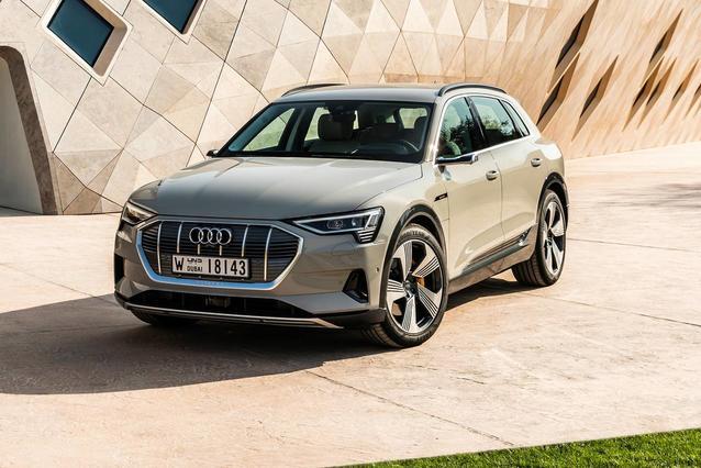 2019 Audi e-tron PRESTIGE SUV Slide 0