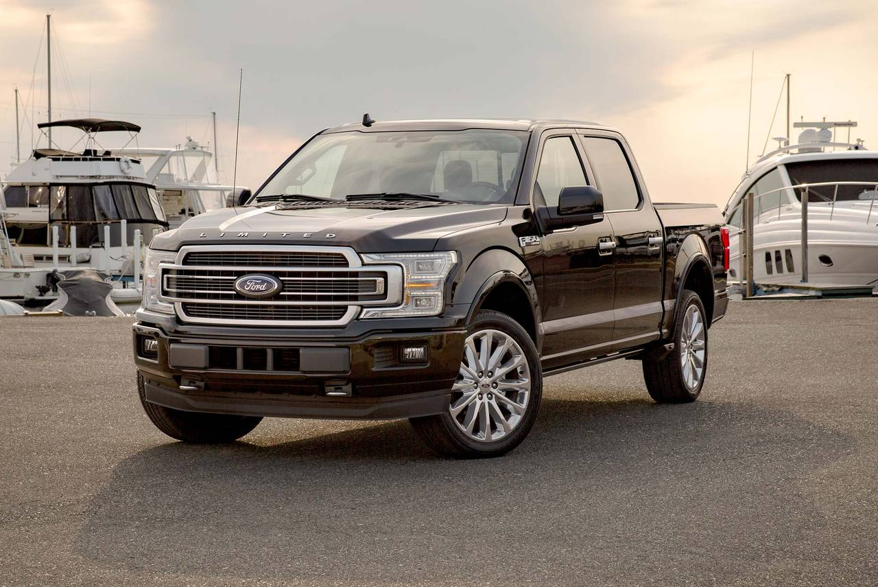 2019 Ford F-150  Crew Pickup Slide 0