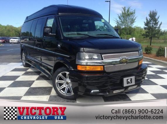 2018 Chevrolet Express Cargo Van WORK VAN Van Slide 0