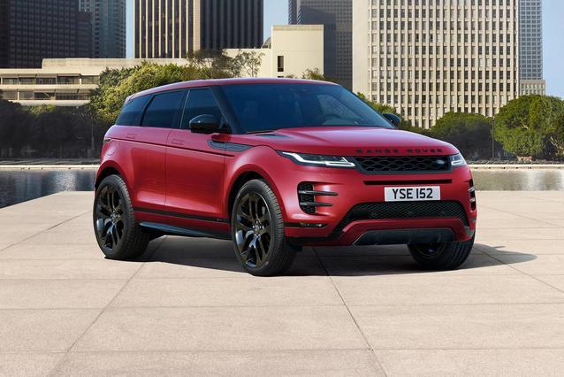 2020 Land Rover Range Rover Evoque SE SUV Slide 0