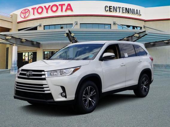 2019 Toyota Highlander LE PLUS Sport Utility Slide 0