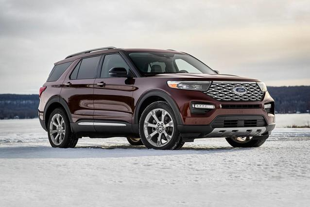 2020 Ford Explorer ST SUV Slide 0