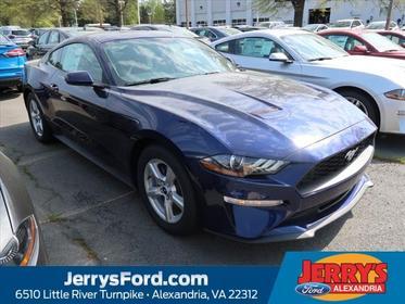 Kona Blue Metallic 2019 Ford Mustang ECOBOOST  VA