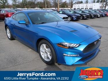 Blue 2019 Ford Mustang ECOBOOST  VA