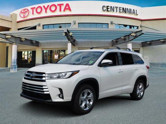 2019 Toyota Highlander LIMITED Sport Utility Slide 0