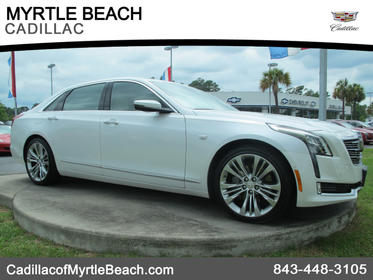 2016 Cadillac CT6 3.0TT PLATINUM AWD 3.0TT Platinum 4dr Sedan Myrtle Beach SC