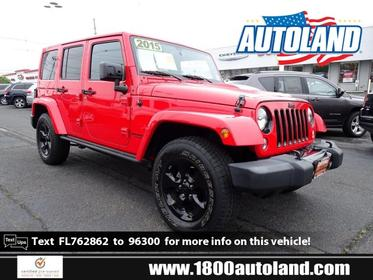 2015 Jeep Wrangler Unlimited ALTITUDE Convertible Springfield NJ