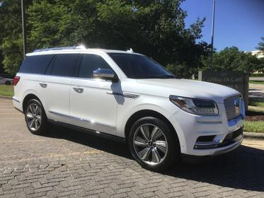 2018 Lincoln Navigator BLACK LABEL Sport Utility Slide