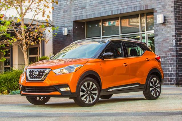 2018 Nissan Kicks SV SUV Slide 0