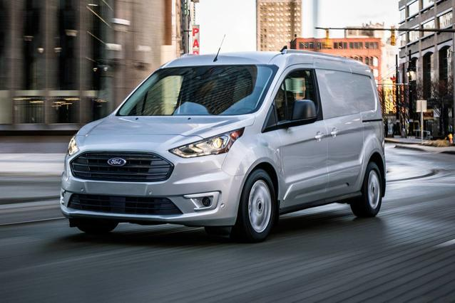 2020 Ford Transit Connect XLT Van Slide 0