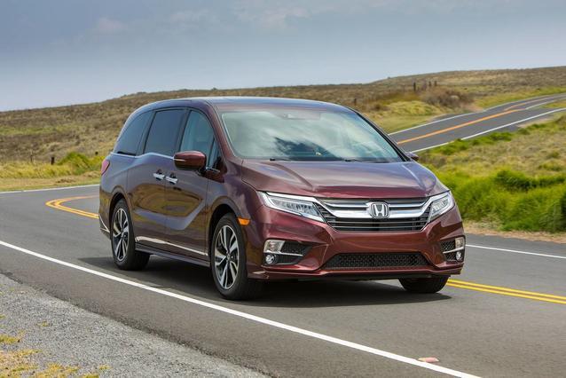 2019 Honda Odyssey EX-L W/NAVI/RES Mini-van, Passenger Slide 0
