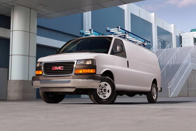 2019 GMC Savana Cargo Van  Full-size Cargo Van Slide 0