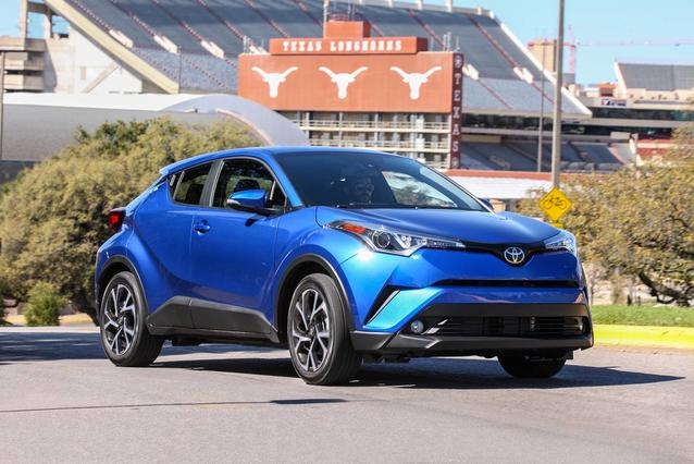 2019 Toyota C-HR LE LE 4dr Crossover Slide 0