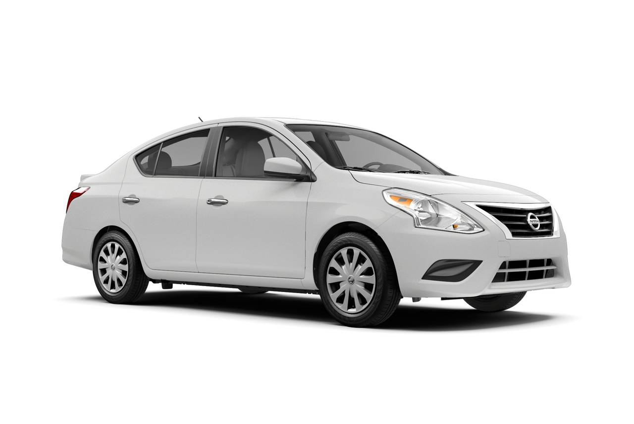 2019 Nissan Versa Sedan SV 4dr Car Slide 0