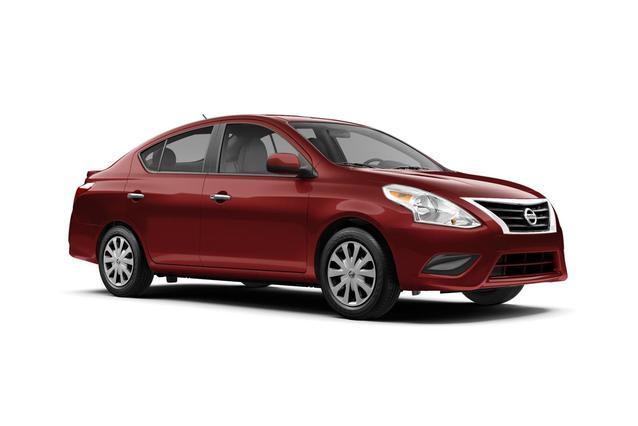 2019 Nissan Versa 1.6 S PLUS 4dr Car Slide 0