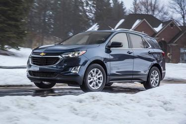 Summit White 2020 Chevrolet Equinox PREMIER SUV Wake Forest NC