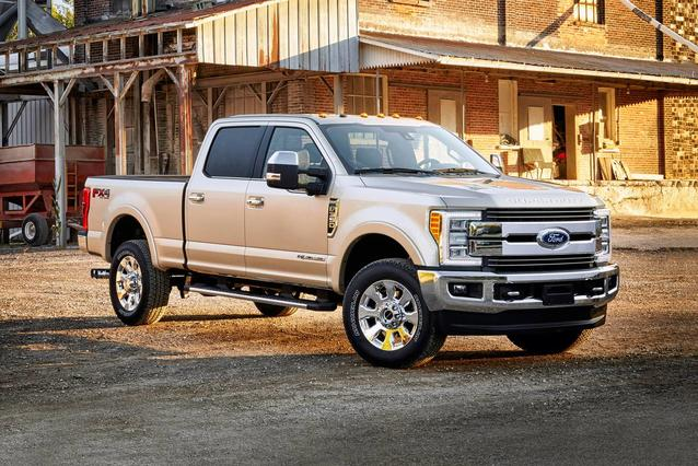 2019 Ford F-350SD PLATINUM Crew Cab Pickup Slide 0
