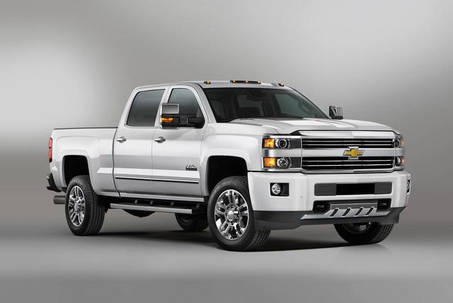 2018 Chevrolet Silverado 2500HD LTZ Slide 0