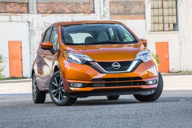 2018 Nissan Versa Note S Hatchback Slide 0