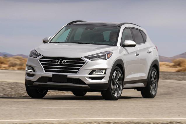 2019 Hyundai Tucson ULTIMATE SUV Slide 0