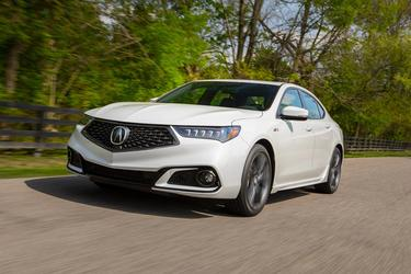 2018 Acura TLX W/A-SPEC PKG RED LEATHER Sedan Slide