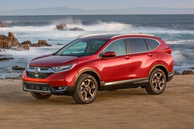 2018 Honda CR-V EX-L Sport Utility Slide 0