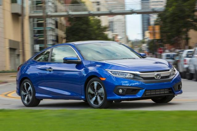 2017 Honda Civic Sedan EX-L 4dr Car Slide 0